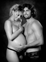- Photographe, biscarosse, Studio Malaret, Les Landes, Futur parents, douceur